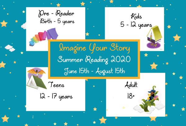 Summer Reading 2020 Register TODAY!