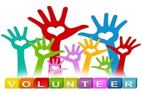 Clipart Of Raised Hands Volunteering