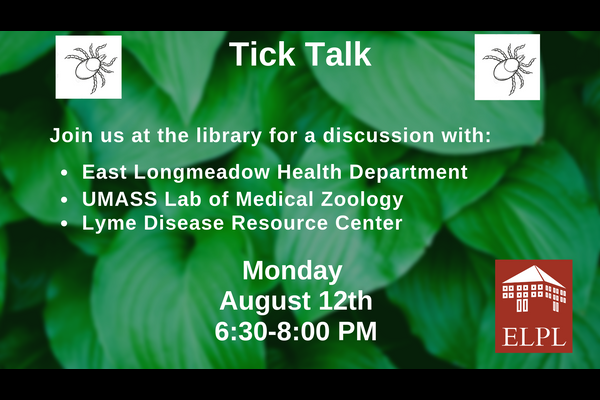 Tick Talk: A Discussion About Ticks And Lyme Disease